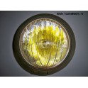 Chromed complet headlight MARCHAL ABTP 345