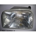 Left headlight European Code glass SEV MARCHAL 64805659