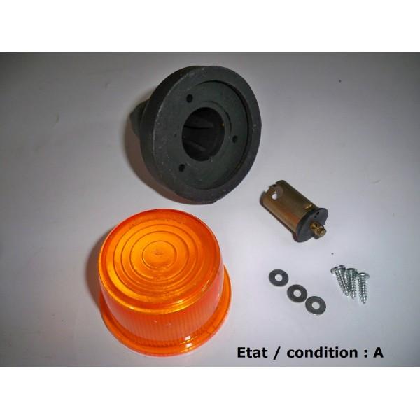 Feu clignotant orange complet rubbolite 6407 r troptic 39 auto - Feu orange clignotant ...