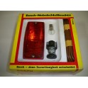 Complete rear fog light kit BOSCH 0313103901