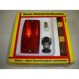 Complete rear fog light kit BOSCH 0313103901