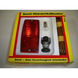 Kit feu anti-brouillard arrière chromé complet 12V BOSCH 0313103901