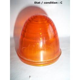 cabochon feu clignotant orange obus seima verre. Black Bedroom Furniture Sets. Home Design Ideas