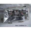 Right headlight European Code CIBIE 67506589