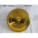 Left dip beam headlight H1 HELLA 1B3 126677-07