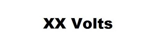 Autres voltages