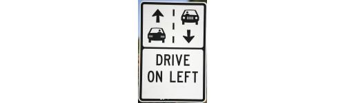 Left hand traffic