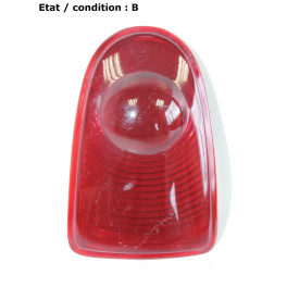 Red taillight lens (glass)