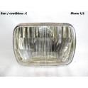 Headlight European Code CARELLO 409 (with lamp shade)