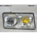 Right headlight H1 + H1 CARELLO 4580