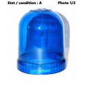 Cabochon feu gyrophare bleu AJBA GF10