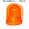 Cabochon feu gyrophare orange AJBA GF10