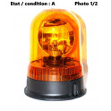 Orange rotating beacon lens AJBA GF10