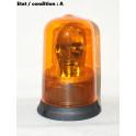 Complete orange rotating beacon 12V SEV MARCHAL 64661012