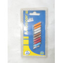 Assortiment de 10 fusibles auto (9 steatites + 1 radio)