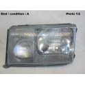 Left headlight H4 + H3 HELLA 1EJ004440-591