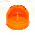 Cabochon feu gyrophare orange Megalux AJBA 80211