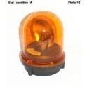 Complete orange rotating beacon 12V SIGNAL VISION 98190055
