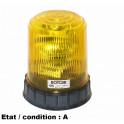 Complete orange rotating beacon 24V SEV MARCHAL 64663512