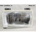Left headlight H4 SIEM 11820 (without side light)
