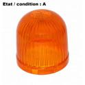 Cabochon feu gyrophare orange AJBA GF90