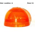 Orange rotating beacon lens Pulsar Gyrosphère AJBA 60211