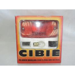 Complete rear fog light kit CIBIE 3076F