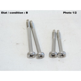 Kit of 4 special screws for taillight