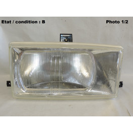Right headlight European Equilux SEV MARCHAL 61226703 D