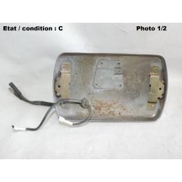Spotlight or foglight headlight housing CIBIE 35 (chromed)