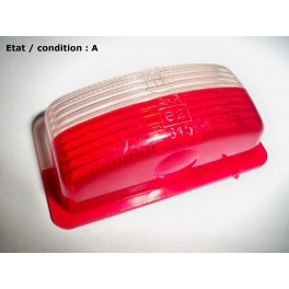 """Red and """"crystal"""" clearance light lens ML Standard"""