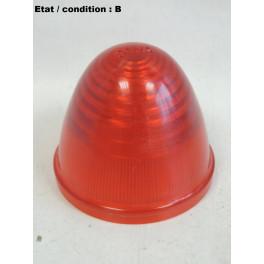 Red taillight lens SEIMA 8R (plastic)