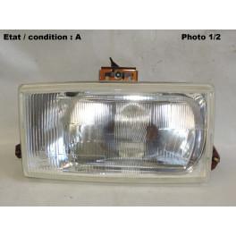 Left european code headlight CIBIE 480233