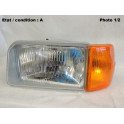 Left dip main beam headlight with indicator SIEM 12760/12728