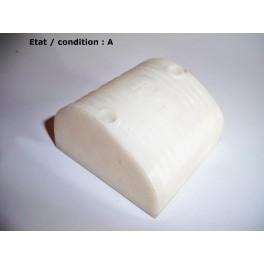 Cabochon feu gabarit blanc opaque ARA 312