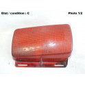 Left rear foglight lens