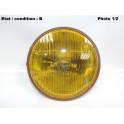 Left dip beam headlight H1 HELLA 1B3 126677-06