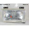 Right headlight H4 SIEM 11810 (with side light)