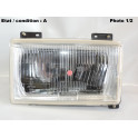 Right headlight H4 SIEM 11810 (without side light)