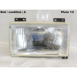 Right headlight european code SIEM 13560 (with side light)