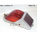 Cabochon feu arrière SCINTEX Ruby (strié)