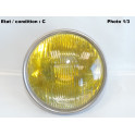 Left main beam headlight H1 SIEM 12300