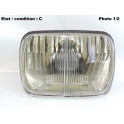 Headlight European Code CARELLO 409 (without lamp shade)