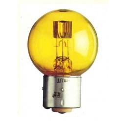 BA21d - Lampe 12V 25/25W jaune