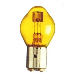 BA20d - Lampe Code 12V 36/45W jaune