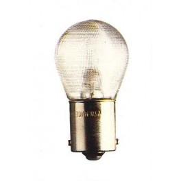 BA15s - Lampe 12V 25W (verre granité)
