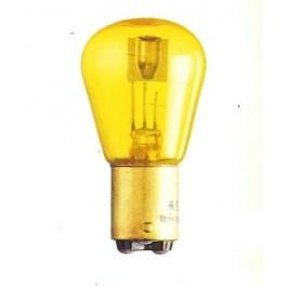 BA15d - Bulb 12V 36/36W yellow