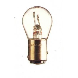 BAY15d - Lampe 12V 21/5W ergots décalés