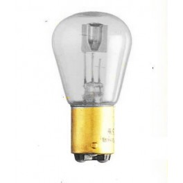 BA15d - Bulb 12V /16V 25/25W (50B) clear
