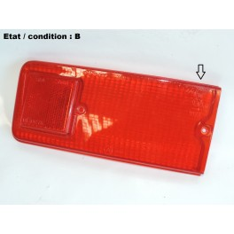 Red right taillight lens SIEM 7589